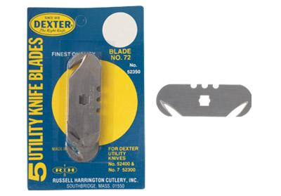 No 072 Dexter Quot V Quot Sharp Hook Blades Crain Tools